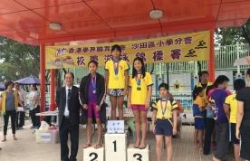沙田區小學校際游泳比賽