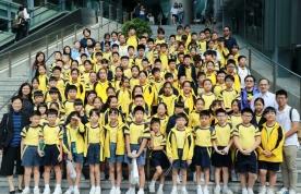小五同學參觀中文大學